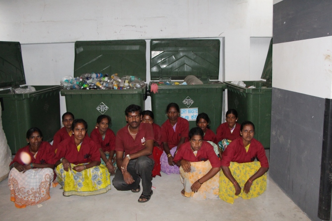 The real behind-the-scene warriors are our housekeepers who toil away silently, not knowing how valuable their work is!