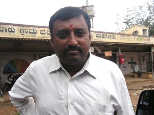V Srinivas of Mandur is brimming with hope that dumping will stop on November 30.