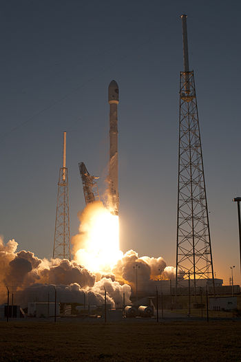Liftoff of the Deep Space Climate Observatory on February 11, 2015. (Source: Wikipedia)