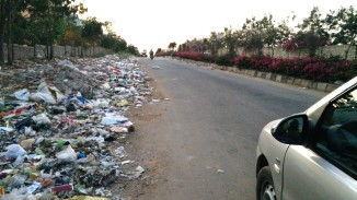 Thindlu Main Road. This is the state of affairs almost always.